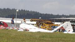 Na Bruntálsku se zřítil větroň, pilot na místě zemřel. Šlo o 64letého cizince