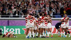 Ragbisté Japonska poprvé v historii postoupili do čtvrtfinále MS, v něm se navíc vyhnou Novému Zélandu
