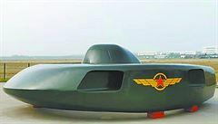 Bojový stroj, který vypadá jako UFO. Čína představila prototyp nového letounu
