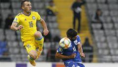 Bílkův Kazachstán doma prohrál s Kyprem a ztratil tak šanci postoupit na EURO