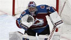 Francouz poprvé chytal v NHL. Připsal si výhru a stal se první hvězdou zápasu