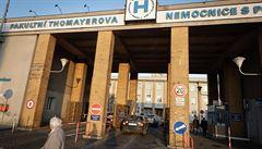 Pacienti z oddělení s nakaženými sestrami v Krči mají negativní testy na koronavirus