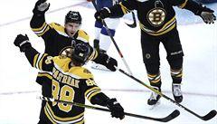 NHL: Francouz kryl 44 střel a připsal si výhru, Pastrňák opět skóroval