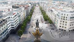 Přestavba Václavského náměstí se prodraží až o 109 milionů. Peníze půjdou na stavbu slepých kolejí