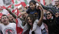 Pryč s vládou, volají Libanonci. Z odporu proti vyšším daním se stal boj za odchod vlády