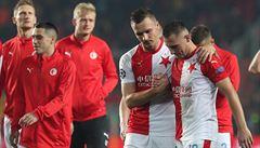 Slavia podlehla Barceloně 1:2. Ve druhém poločase sešívaní soupeře přehrávali, přesto neberou ani bod