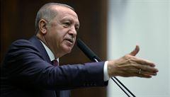 Kurdové se z pásma úplně nestáhli, tvrdí Erdogan. Hlídky s Ruskem začnou v pátek