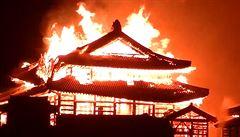 VIDEO: Legendární japonský hrad Šuri vyhořel do základů. Svět přišel o památku UNESCO