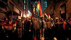 V Bolívii se vzbouřili policisté proti svým velitelům. Prezident varuje před převratem