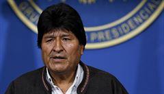 Bolivijský exprezident Morales chce požádat o pomoc s urovnáním konfliktu OSN i papeže