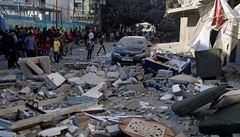 Velká izraelská ofenziva: armáda zasáhla 130 cílů, zabila 15 radikálních Palestinců. Zemřelo ale také devět dětí