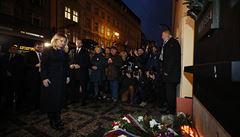 Změny z 1989 jsou započaté, ale ne dokončené, řekla Čaputová na Národní třídě, kde uctila památku 17. listopadu