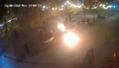 VIDEO: V Bratislavě se zapálil muž. Odůvodnil to tím, že ho odmítají ženy