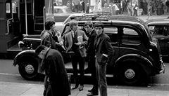 OBRAZEM: Rolling Stones jako mladíci. Dosud neznámé fotografie zachycují jejich hudební začátky