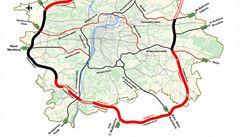 Proti stavbě klíčového úseku Pražského okruhu dorazilo celkem 46 odvolání. Lhůta vypršela o půlnoci
