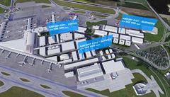 Podívejte se, jak se rozroste Letiště Václava Havla. Do rozšíření druhého terminálu zainvestuje 16 miliard