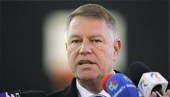 Rumunským prezidentem se stal opět centrista Klaus Iohannis, ukazují první odhady
