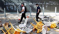 'Odmítněte temné síly.' Hongkong si v neděli vybere mezi Pekingem a demokracií
