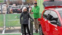 Ekologická aktivistka Thunbergová v Madridu vyzvala politiky, aby sliby nahradili činy