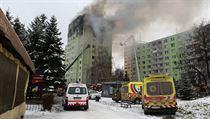 V bytovém domě v Prešově vybuchl plyn, zahynulo pět lidí. Dvanáctipatrovému paneláku hrozí zřícení