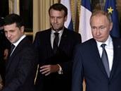 Rusku se ve vztahu k Ukrajině musí vytyčit nepřekročitelné linie, tvrdí Macron