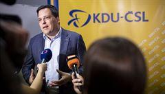 Lidovci předsedu Komise udrží, bližší nám budou spíše liberálové než zelení, říká Zdechovský
