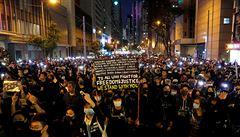 Revoluce jako novoroční přání. Hongkongští protestující zahájili další demonstrace