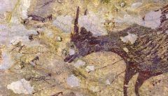 Malba z indonéské jeskyně může být nejstarším příběhem světa. Podle vědců jí je 44 tisíc let