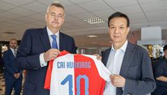 Novým šéfem Citic Europe Holdings se stal Cchaj Chua-siang. Za Slavii nadále plně odpovídám já, říká Tvrdík