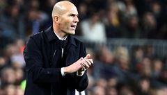 Zasloužili jsme si nad Barcelonou vyhrát, řekl po bezbrankovém El Clásicu trenér Realu Zidane