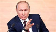 Putin v novoročním projevu vyzval Rusko k jednotě, hovořil rovněž o generaci vítězů