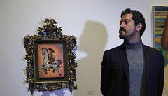 V Mexiku vyvolal poprask obraz nahého revolucionáře Zapaty. Před galerií probíhají krvavé potyčky