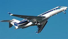 Čeští politici budou zřejmě létat strojem Global 5000 od kanadského Bombardieru. Jiný letoun firmy nenabídly