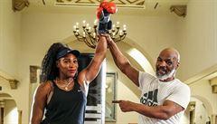 VIDEO: Williamsová málem utrhla pytel, který jí držel Tyson. Na koho ji legendární Zvíře chystalo?