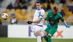 Útočník Dynama Kyjev Besedin měl v Evropské lize dopingový nález, UEFA mu pozastavila činnost