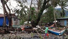 Tajfun Phanfone si na Filipínách vyžádal nejméně 50 obětí, bez domova je stále 80 000 lidí