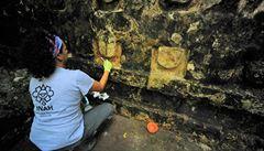 Archeologové v Mexiku objevili 1000 let starý mayský palác. Nyní přemýšlejí, jak ho uchránit před vlivem počasí