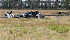 Při zřícení malého letadla zahynuli u Petrohradu nejméně tři lidé