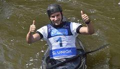 Kajakář Přindiš je podruhé mistrem Evropy ve vodním slalomu, na trůnu vystřídal Prskavce