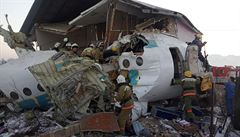 Nejméně 12 mrtvých si vyžádalo letecké neštěstí v Kazachstánu, další cestující jsou v kritickém stavu