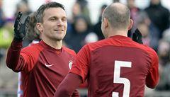 Slavia remizovala v Silvestrovském derby se Spartou 3:3, trefil se Koller i Lafata