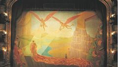 Národní divadlo prodává nepotřebnou oponu ze Státní opery. Minimální cena je 100 tisíc