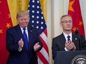 Trump nemá na výběr. Z obchodní dohody s Čínou nepůjde snadno vycouvat, zbrzdil by ekonomiku