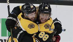 Start NHL bez českých hvězd? Pastrňák a Kaše opět vynechali trénink Bostonu, nejsou fit