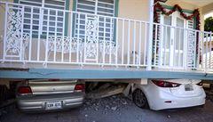 Portoriko postihlo další silné zemětřesení, způsobilo nové škody. Lidé jsou bez elektřiny