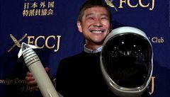Chcete se podívat do vesmíru? Japonský miliardář hledá dámský doprovod na cestu k Měsíci