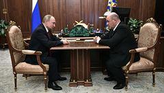 Ruská vláda podala demisi. Putin navrhl na nového premiéra Michaila Mišustina