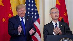 USA s Čínou podepsaly první část obchodní dohody. Obě země to označují za významný krok