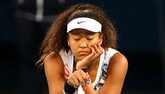 Ósakaová na protest proti rasismu odstoupila z turnaje v New Yorku, do finále prošla bez boje Mertensová