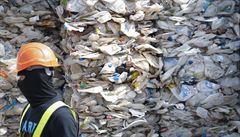 Malajsie vrátila do zemí původu 150 kontejnerů s plasty